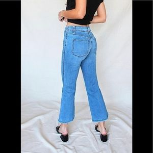 Aura low rise flare jeans
